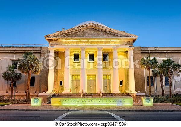 Supreme Court of Florida - csp36471506