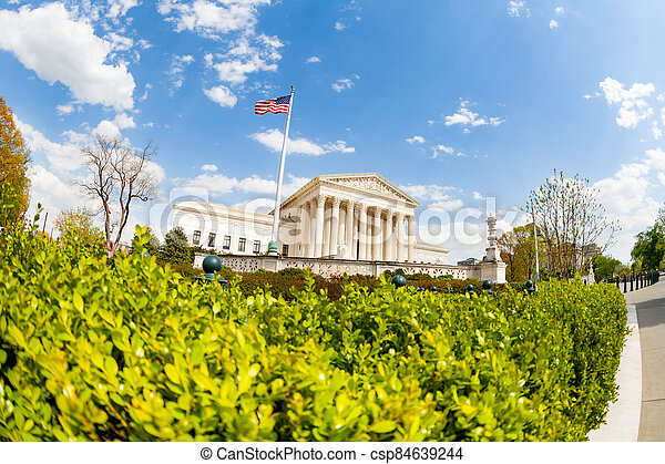 Supreme Court of the United States - csp84639244