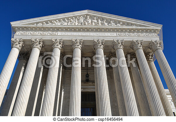 Supreme Court of the United States - csp16456494
