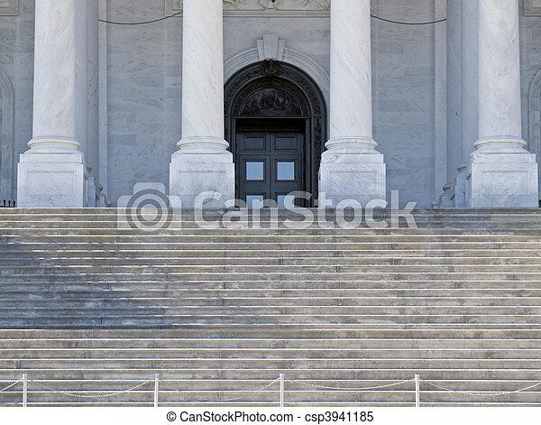 Supreme Court Steps - csp3941185