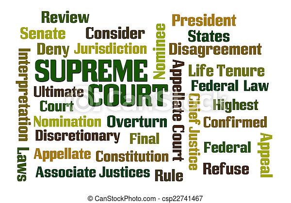 Supreme Court - csp22741467