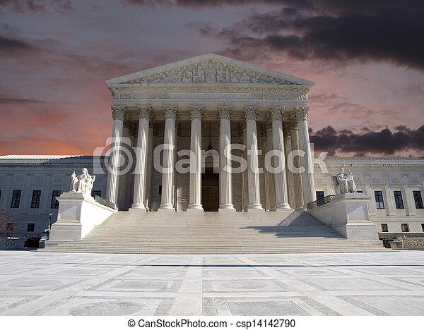 Supreme Court Sunrise - csp14142790
