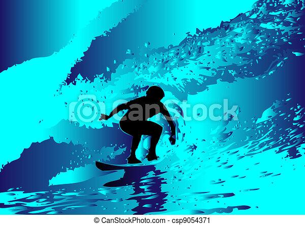 Surfeando - csp9054371