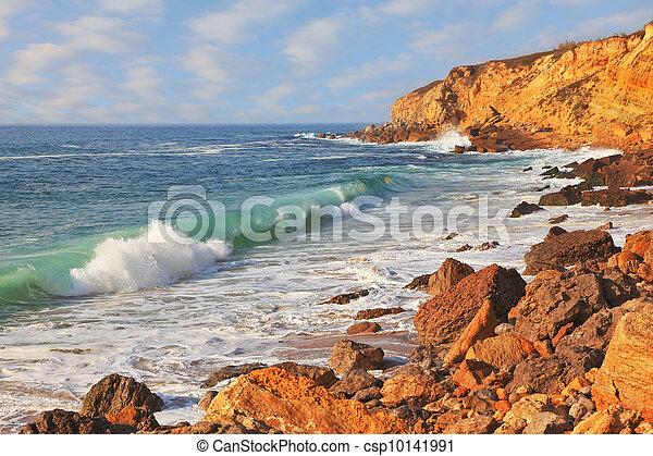surf, oceano, potente - csp10141991