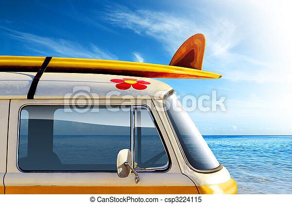 Surf Van - csp3224115