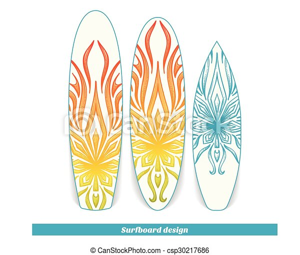 Surfboard Design Abstract Marijuana Design Surfboard With A Color