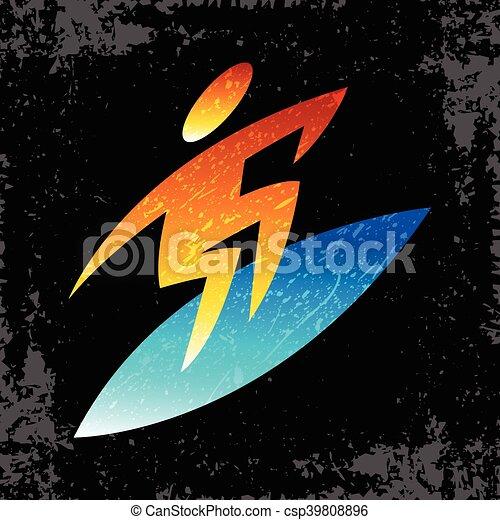 Surfer - csp39808896