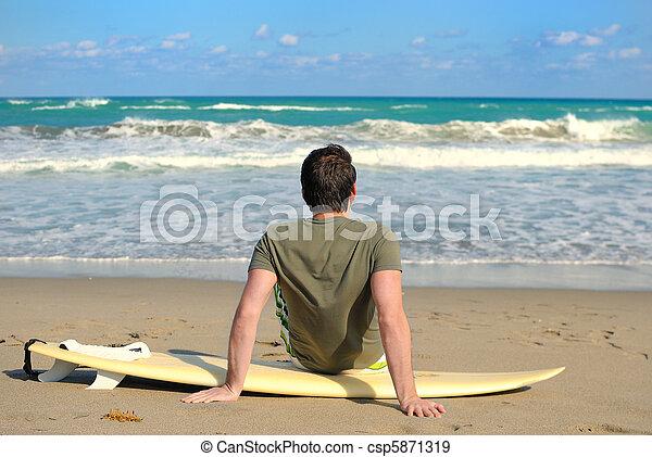 surfeur - csp5871319