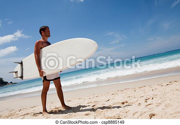 surfeur - csp8885149