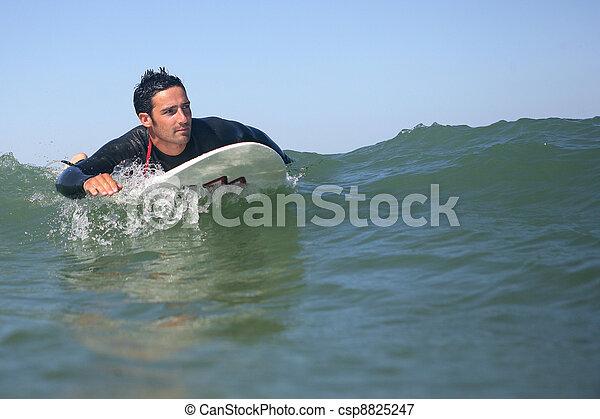surfeur, vague - csp8825247