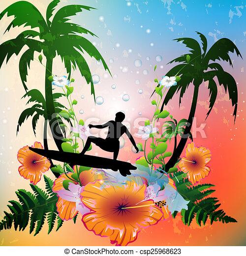 Surfing - csp25968623