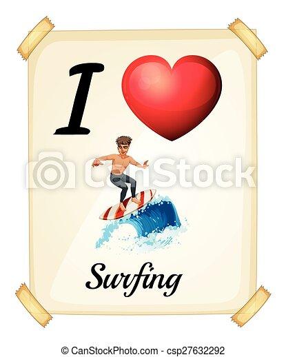 Surfing - csp27632292