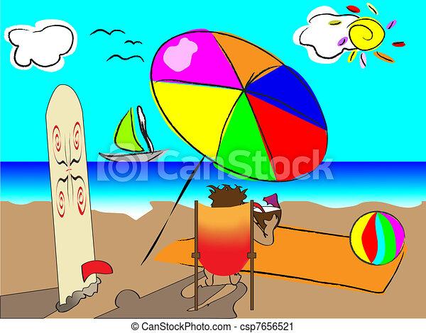 surfing  - csp7656521