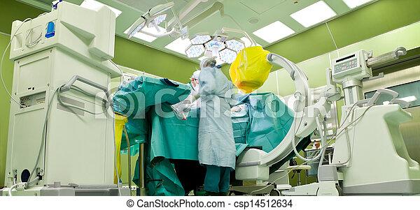 surgery scanner modern hospital - csp14512634