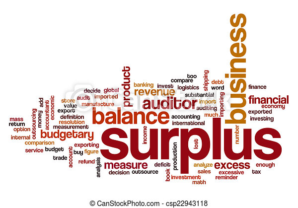 surplus illustrations and clipart 537 surplus royalty free