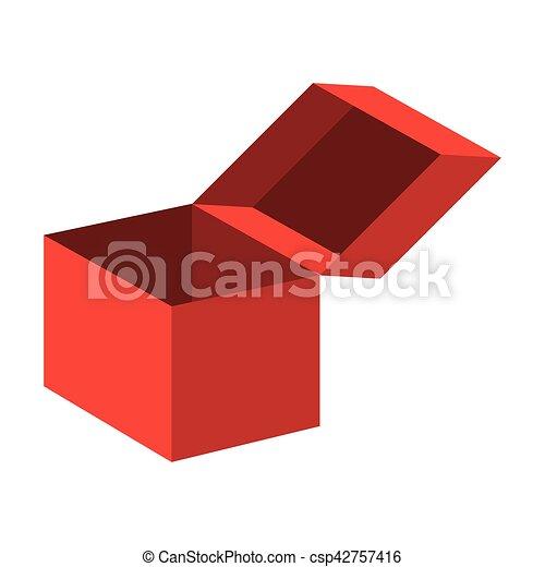 surprise box fools day vector illustration design