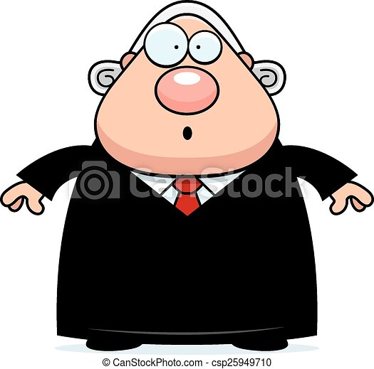 surprised cartoon judge a cartoon illustration of a judge vector rh canstockphoto com clipart judge hammer judge clipart free