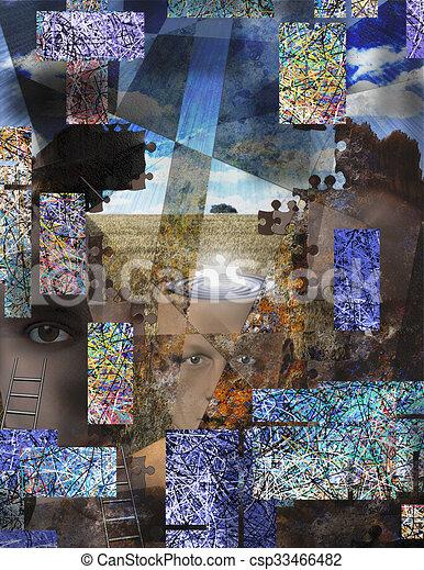 Surreal Abstract - csp33466482