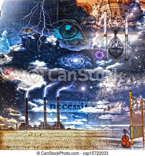 Surreal Composition - csp15722033
