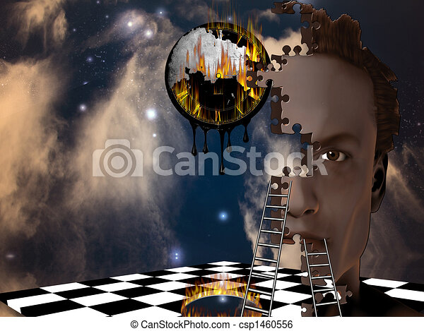 Surreal Composition - csp1460556