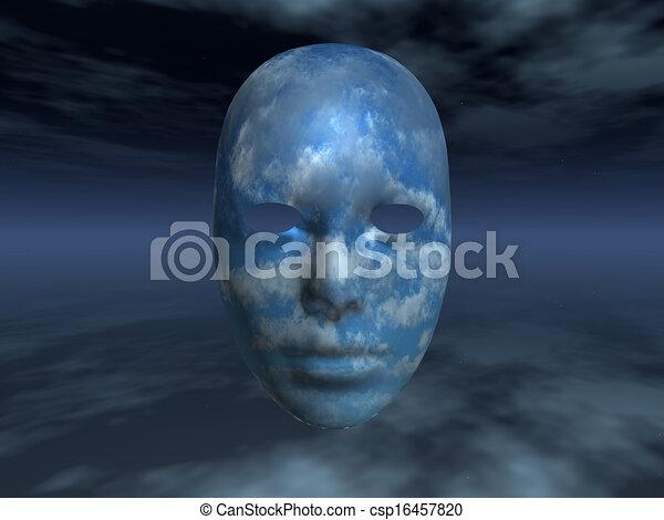 Surreal Face - csp16457820
