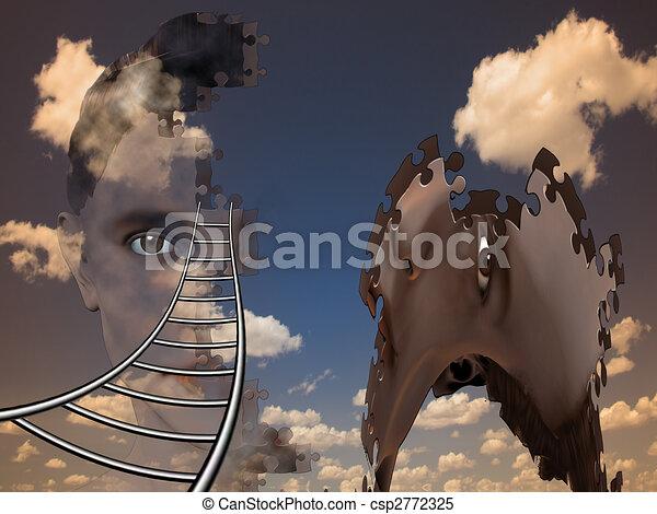Surreal Human Composition - csp2772325
