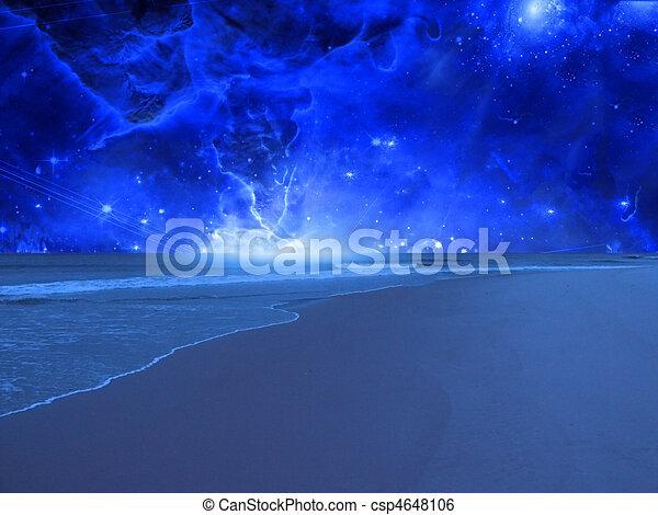 Surreal Sea - csp4648106