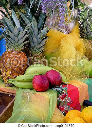 Asociación de frutas - csp0121870