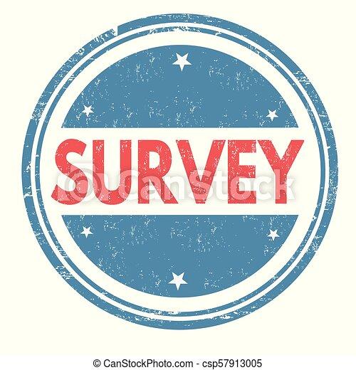 Survey grunge rubber stamp - csp57913005