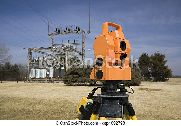 Surveying electric compound   - csp4032798