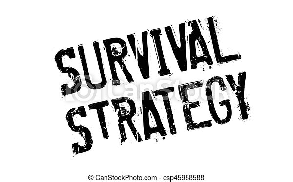 survival strategy rubber stamp grunge design with dust vector rh canstockphoto ie survivor clip art free survival skills clipart