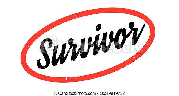 survivor rubber stamp grunge design with dust scratches clipart rh canstockphoto com free clipart cancer survivor
