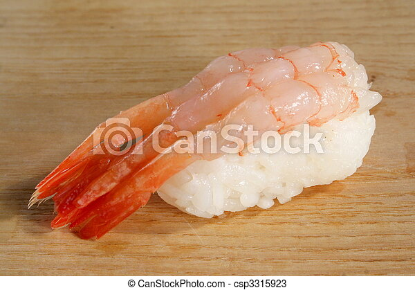 Sushi Amaebi - csp3315923