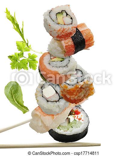 Sushi Assortment - csp17714811