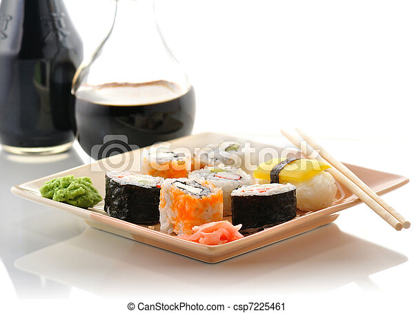 sushi assortment - csp7225461