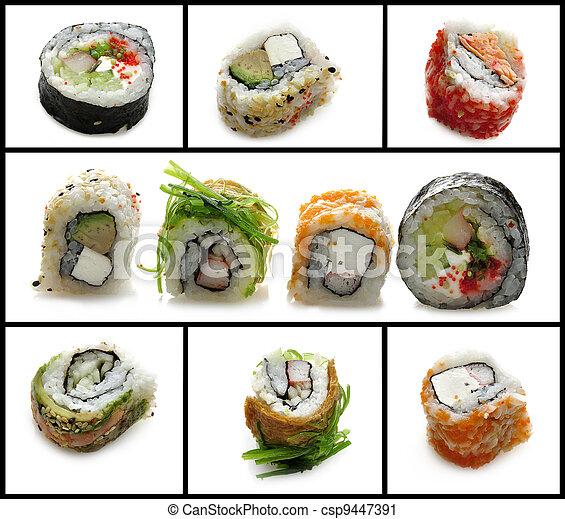 Sushi Assortment - csp9447391