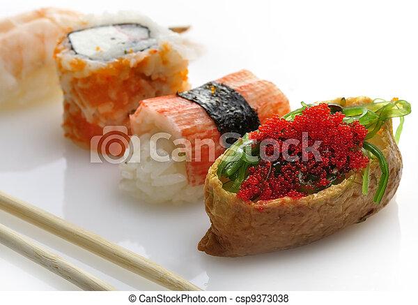 Sushi Assortment - csp9373038