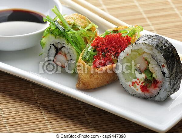 Sushi Assortment - csp9447398
