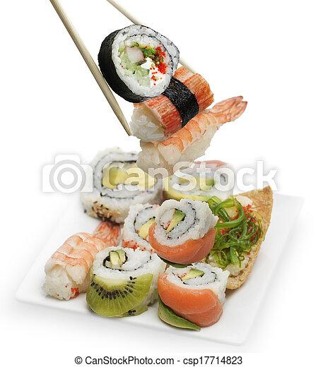 Sushi Assortment - csp17714823