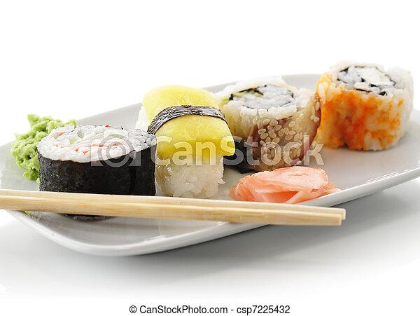 sushi assortment - csp7225432