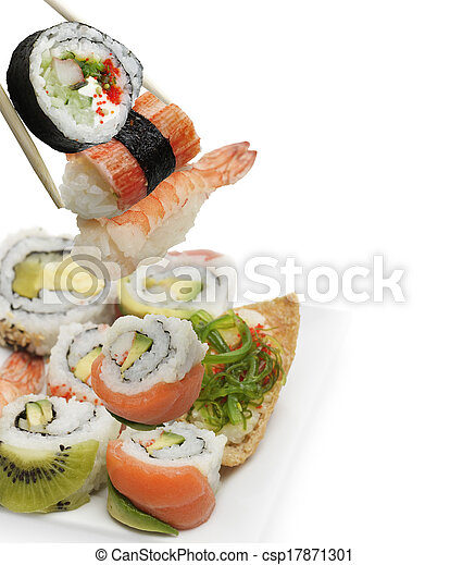 Sushi Assortment - csp17871301