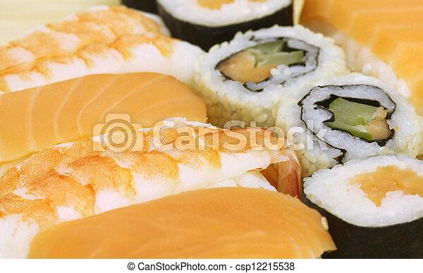 Sushi Assortment - csp12215538