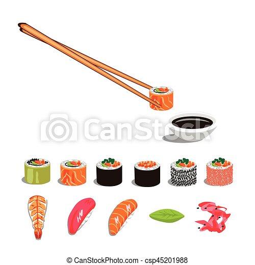 sushi, ensemble - csp45201988