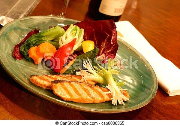 sushi, piatto da portata - csp0006365