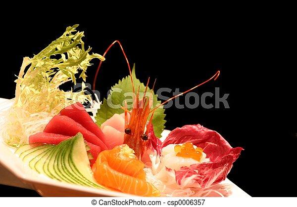 sushi, piatto da portata - csp0006357
