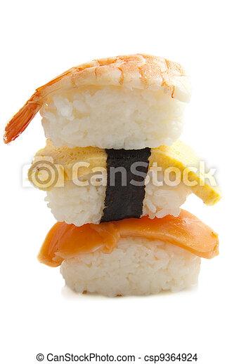 Sushi pile - csp9364924