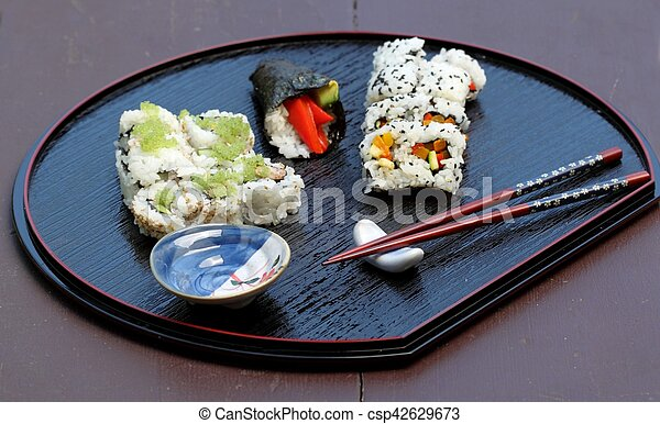 Sushi Plate - csp42629673
