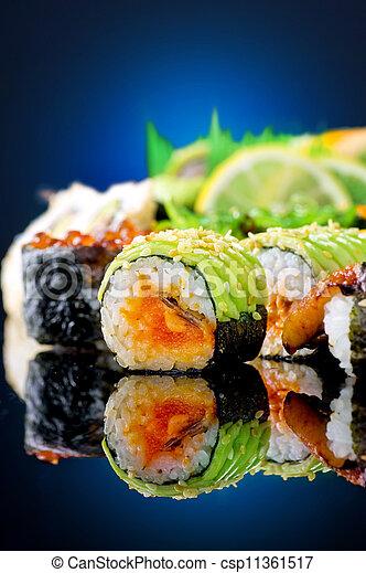 Sushi Rolls - csp11361517