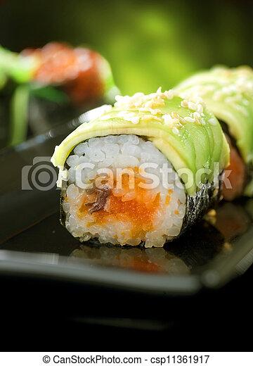Sushi Rolls - csp11361917