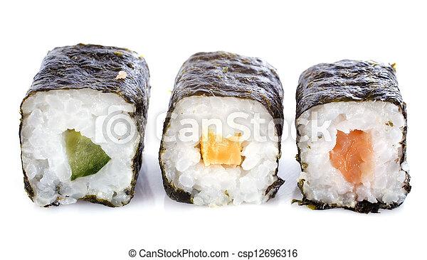 sushi rolls - csp12696316